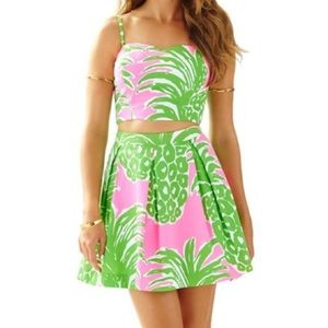 🍍Lilly  Pulitzer Pink Pout Flamenco Set🍍